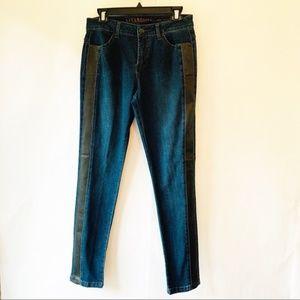 Liverpool Abby Skinny Jeans Dark Paradise